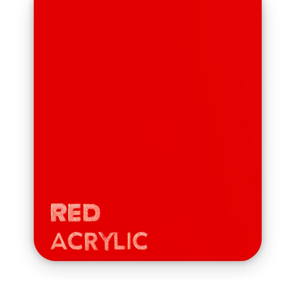 Akril Crveni 3mm
