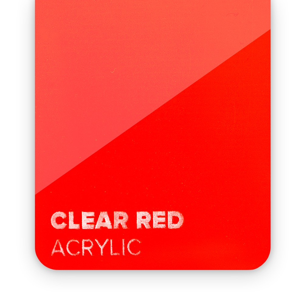 Akril Crveni/Providni 3mm