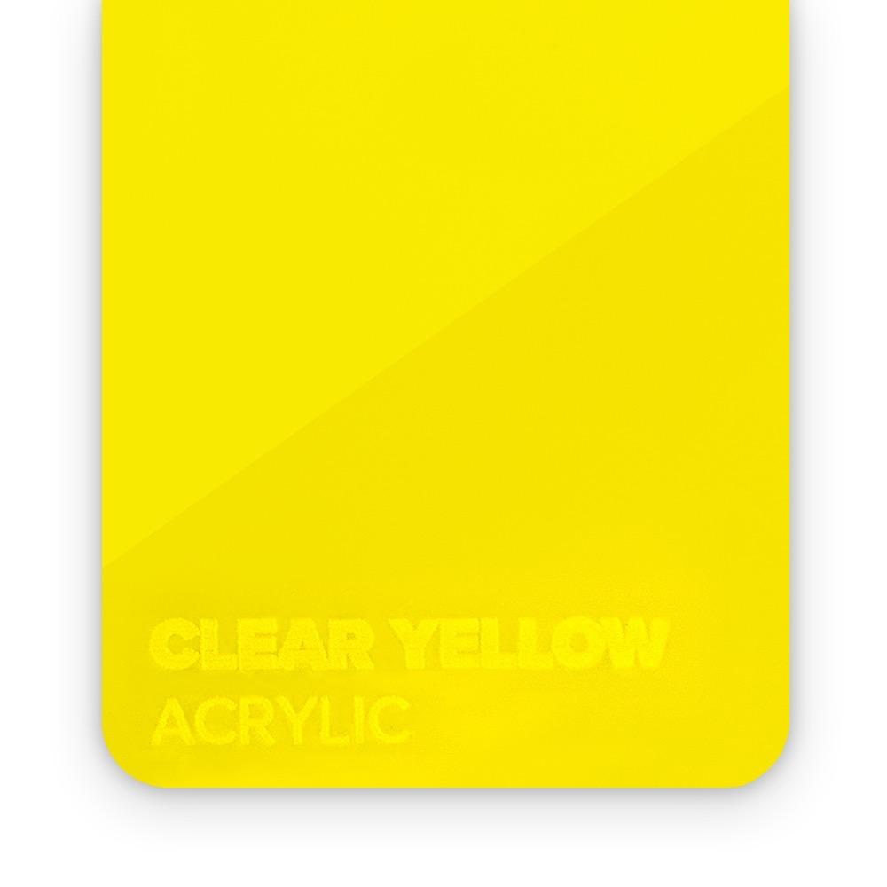 Akril Žuti/Providni 3mm
