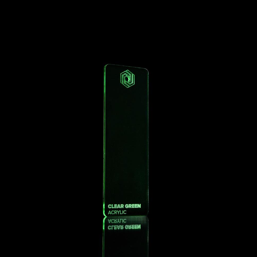 Akril Zeleni/Providni 3mm