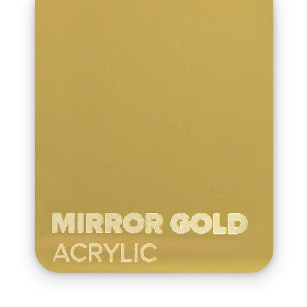 Akril Zlatni/Ogledalo 3mm