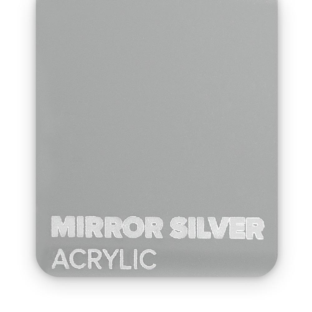 Akril Srebrni/Ogledalo 3mm