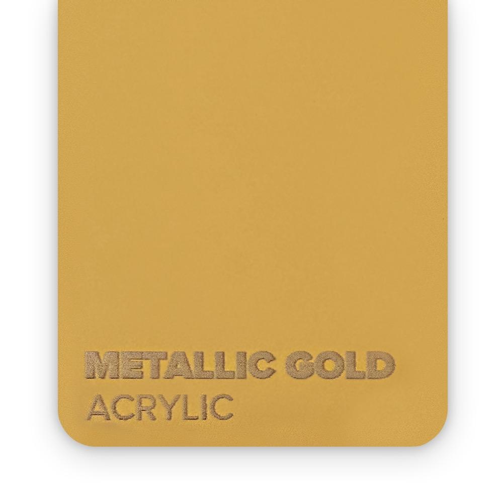 Akril Zlatni/Metalik 3mm