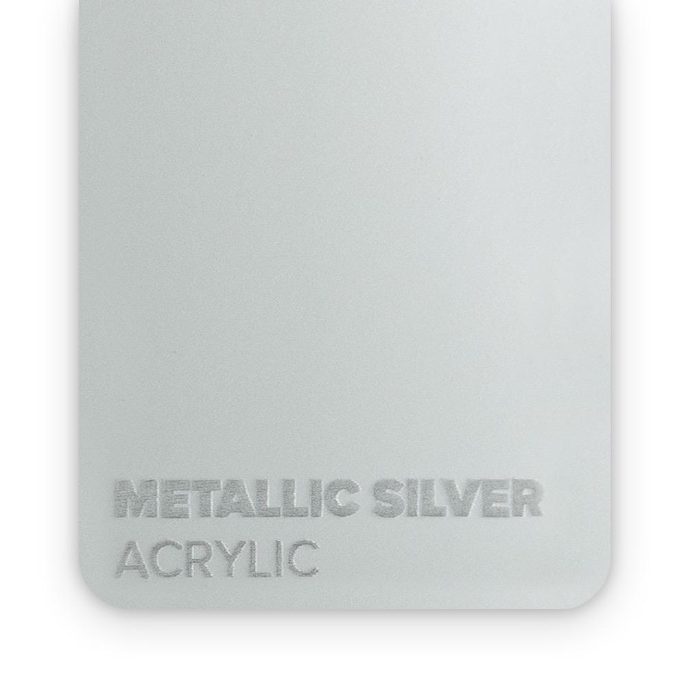 Akril Srebrni/Metalik 3mm