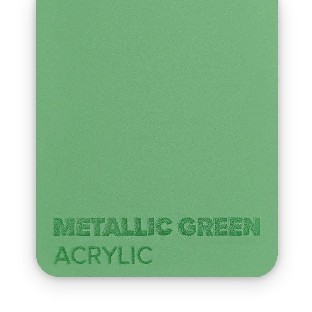 Akril Zeleni/Metalik 3mm