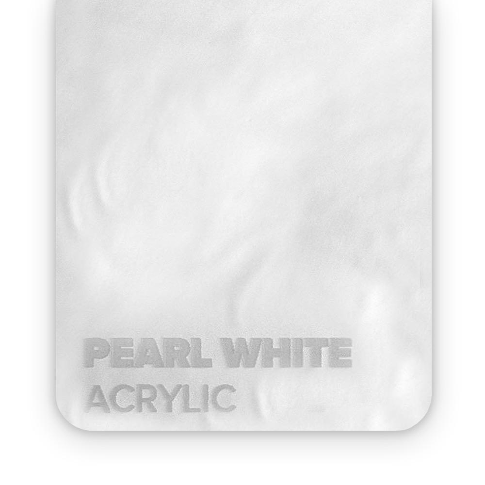 Akril Bijeli/Sedef 3mm