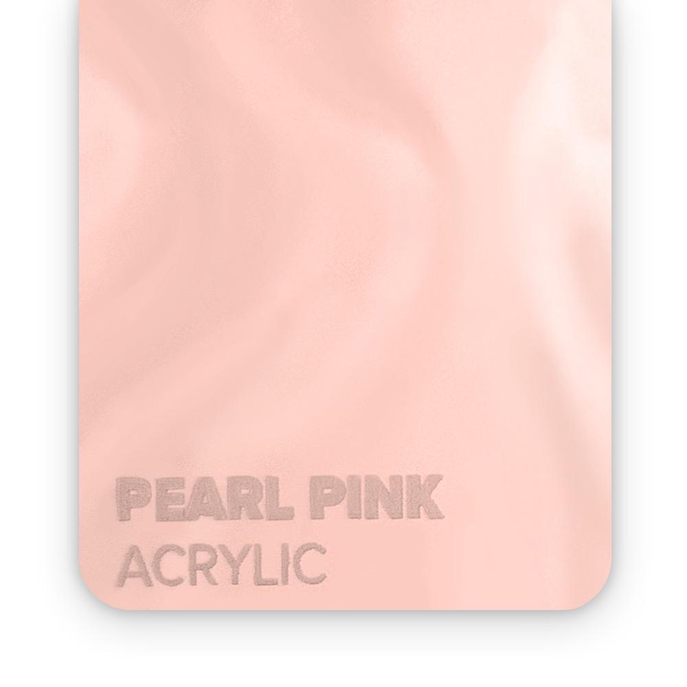 Akril Pink/Sedef 3mm