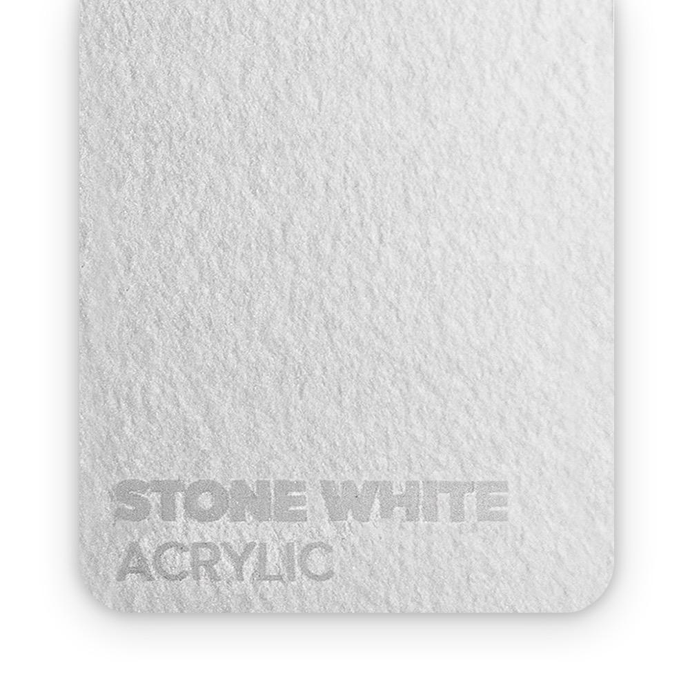 Akril Kamen/Bijeli 3mm