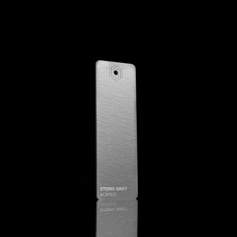 Akril Kamen/Sivi 3mm